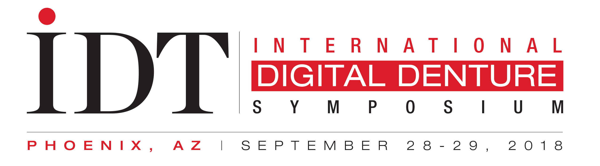 IDT International Digital Denture Symposium 2018